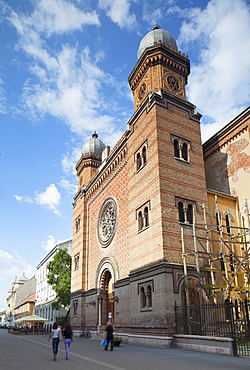 The Fortress Synagogue, Timisoara, Banat, Romania, Europe
