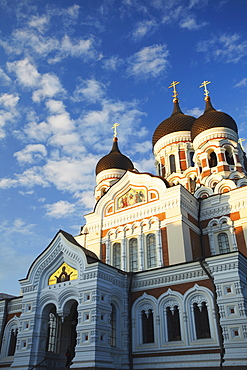 Alexander Nevsky Cathedral, Toompea, Tallinn, Estonia, Baltic States, Europe