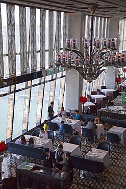 Tosca Restaurant in Ritz Carlton inside ICC, Kowloon, Hong Kong, China, Asia