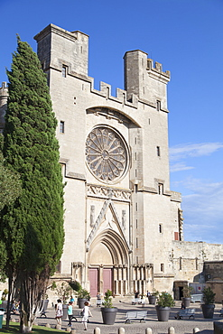 Saint Nazaire Cathedral, Beziers, Herault, Languedoc-Roussillon, France, Europe