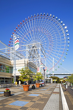 Ferris wheel, Tempozan, Osaka, Kansai, Japan, Asia