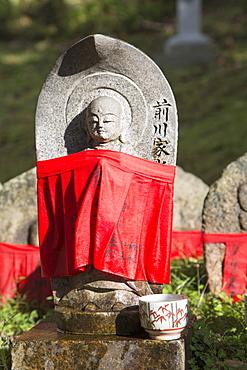 Statue at Kofukuji Temple, UNESCO World Heritage Site, Nara, Kansai, Japan, Asia