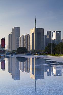 Skyscrapers in Zhujiang New Town, Tian He, Guangzhou, Guangdong, China, Asia