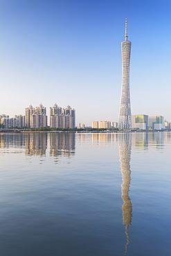Canton Tower, Tian He, Guangzhou, Guangdong, China, Asia