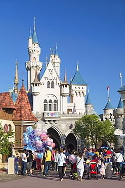 Disneyland, Lantau Island, Hong Kong, China, Asia