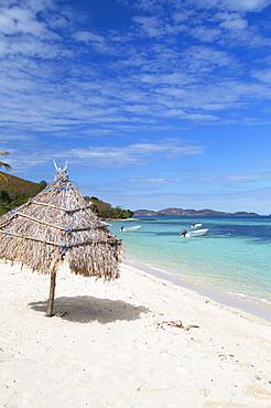 Beach on Mana Island, Mamanuca Islands, Fiji, South Pacific, Pacific