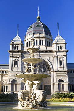 Royal Exhibition Building, UNESCO World Heritage Site, Melbourne, Victoria, Australia, Pacific