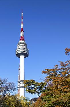 Seoul Tower in Namsan Park, Seoul, South Korea, Asia