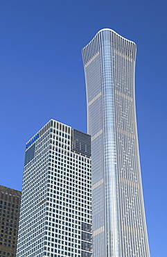 CITIC Tower, the tallest skyscraper in Beijing in 2020, Beijing, China, Asia