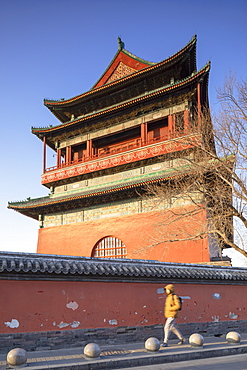 Drum Tower, Dongcheng, Beijing, China, Asia