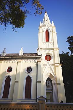 Our Lady of Lourdes Chapel on Shamian Island, Guangzhou, Guangdong, China, Asia
