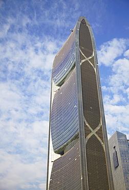 Pearl River Tower, Zhujiang New Town, Tianhe, Guangzhou, Guangdong, China, Asia