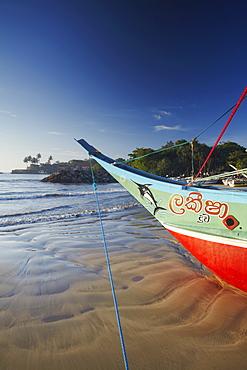 Fishing boat, Galle, Southern Province, Sri Lanka, Asia