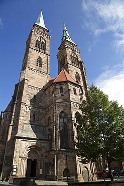 St. Sebald Church, Nuremberg, Bavaria, Germany, Europe