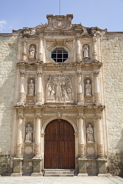 Temple and Convent of Saint Agustin, constructed in 1586, Oaxaca City, Oaxaca, Mexico, North America