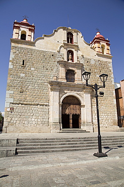 Sangre de Cristo Church, began in 1682, Oaxaca City, Oaxaca, Mexico, North America