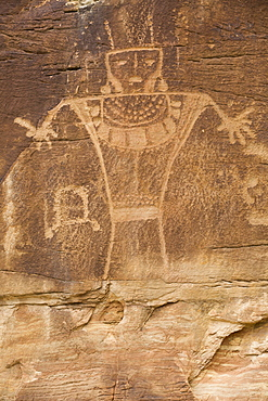 Dry Fork Canyon Rock Art, located on McConkie Ranch, Fremont style, dating from AD 700 to AD 1200, near Vernal, Utah, United States of America, North America