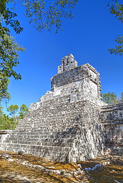 Tabasqueno, Mayan archaeological site, Chenes style, Campeche, Mexico, North America