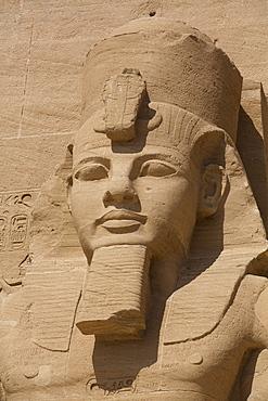 Ramses II, Sun Temple, Abu Simbel, UNESCO World Heritage Site, Egypt, North Africa, Africa