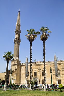 Mosque of Saiyidna Hussein, Cairo, Egypt, North Africa, Africa
