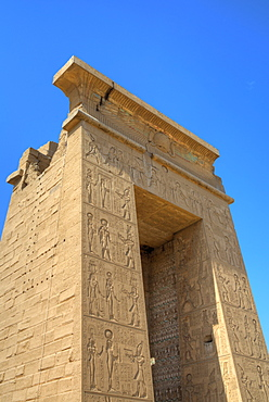 Gateway of Euergetes II, Karnak Temple, Luxor, Thebes, UNESCO World Heritage Site, Egypt, North Africa, Africa