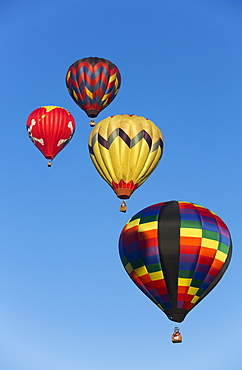 Hot air balloons, 2015 Balloon Fiestas, Albuquerque, New Mexico, United States of America, North America