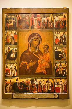 Icons, Kremlin Museum, Rostov Veliky, Golden Ring, Yaroslavl Oblast, Russia, Europe