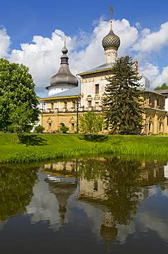 Hodegetria Icon Church, Kremlin, Rostov Veliky, Golden Ring, Yaroslavl Oblast, Russia, Europe