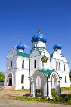 Bogoyavlensky Cathedral, Epiphany Monastery, Uglich, Golden Ring, Yaroslavl Oblast, Russia, Europe