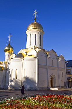 Holy Trinity Cathedral, The Holy Trinity Saint Sergius Lavra, UNESCO World Heritage Site, Sergiev Posad, Russia, Europe