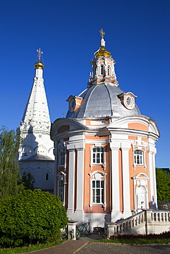 Holy Virgin of Smolensk Church, The Holy Trinity Saint Sergius Lavra, UNESCO World Heritage Site, Sergiev Posad, Russia, Europe
