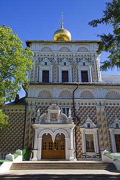St. Sergius Church, The Holy Trinity Saint Sergius Lavra, UNESCO World Heritage Site, Sergiev Posad, Russia, Europe