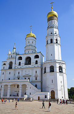 Ivan the Great Bell Tower, Kremlin, UNESCO World Heritage Site, Moscow, Russia, Europe