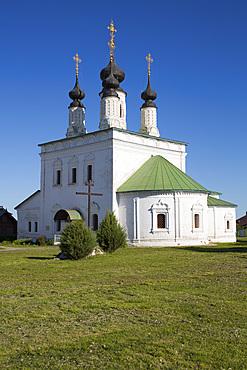 Alexandrovsky Monastery, Suzdal, Vladimir Oblast, Russia, Europe