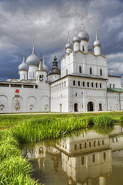Resurrection Gate Church, built 1670, Kremlin, Rostov Veliky, Golden Ring, Yaroslavl Oblast, Russia, Europe