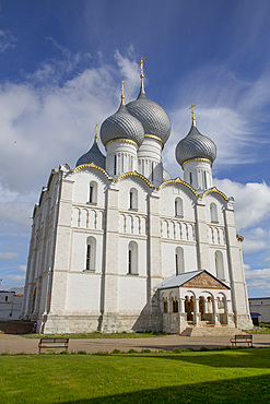 Cathedral of the Dormition, built 1162, Rostov Veliky, Golden Ring, Yaroslavl Oblast, Russia, Europe