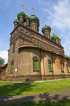 Church of St. John the Baptist, UNESCO World Heritage Site, Yaroslavl, Yaroslavl Oblast, Russia, Europe