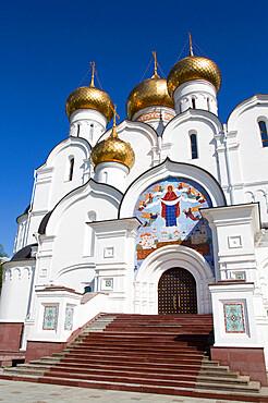 Assumption Cathedral, UNESCO World Heritage Site, Yaroslavl, Yaroslavl Oblast, Russia