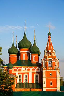 St Michael the Archangel Church, UNESCO Site, Yaroslavl, Golden Ring, Yaroslavl Oblast, Russia
