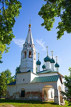 Church of St Nicholas Rublemy, UNESCO World Heritage Site, Yaroslavl, Yaroslavl Oblast, Golden Ring, Russia