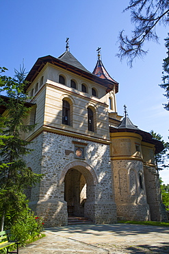 St. George Church Mirauti, 1375, Suceava, Suceava County, Romania, Europe