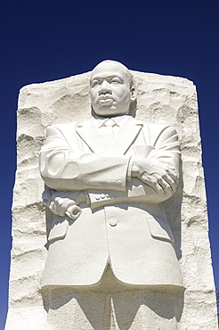 The Martin Luther King Memorial on the National Mall in Washington, D.C., United States of America, North America