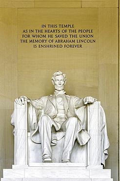The Lincoln Memorial, Washington, D.C., United States of America, North America