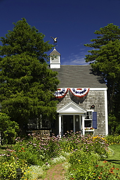 The historic Monomoy Theatre in  Chatham, Massachusetts, New England, United States of America, North America