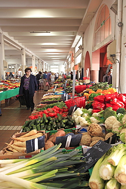 Marche Forville (Forville Market), Cote d'Azur, Alpes Maritimes, Provence, French Riviera, France, Europe