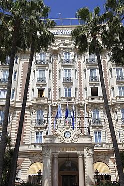 Carlton Hotel, Carlton InterContinental, La Croisette, Cannes, Cote d'Azur, Provence, French Riviera, France, Europe