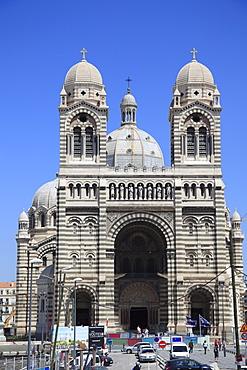 Marseille Cathedral (Cathedrale de la Major) (Sainte Marie Majeure), Marseille, Bouches du Rhone, Provence Alpes Cote d'Azur, Provence, France, Europe