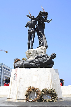 Martyr's Statue, Martyrs Square, Downtown, Beirut, Lebanon, Middle East