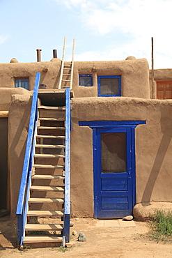 Taos Pueblo, UNESCO World Heritage Site, Taos, New Mexico, United States of America, North America