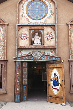 Santo Nino de Atocha Chapel, Childrens Chapel, Santuario de Chimayo, Religious Pilgrimage Site, Chimayo, New Mexico, United States of America, North America